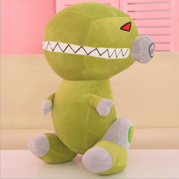 Robot dinosaur plush toy cute Cartoon Tyrannosaurus Stuffed Toy Dolls for Kids Children Boys Birthday Gift