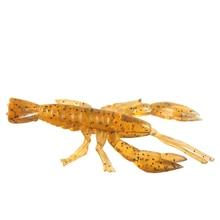 Soft Shrimp Lure 100pcs/lot Silicone Worm Fishing Bait Artificial Fishing Lures Set China Swimbait Fake Fish Tackle Peche