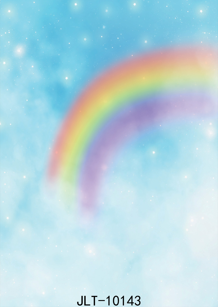SJOLOON 5X7ft art rainbow in the sky background natural photo background for photo studio newborn photographic backdrops vinyl