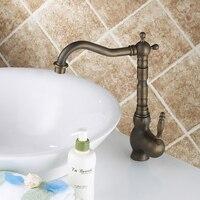 Fashion bronze faucet antique kitchen mixer basin mixer vintage sink faucet tap vegetables basin sink mixer