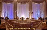3x6 м Свадебные шторы фон шелковой ткани для Свадебные украшения