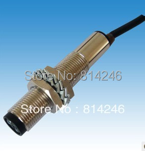 M12 diffuse reflection photoelectric switch, photoelectric sensor diffuse reflection PNP photoelectric switch e3jk ds30m1 30cm diffuse reflection infrared switch photoelectric sensor dc12 24 18 50 50