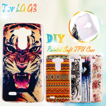 Painted Soft TPU Phone Cases For LG Optimus G3 D831 LS990 F400K D855 D850 D858 D859 D857 D830 D851 F460 F400 Silicone Case Cover