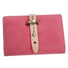 26 Card Bits Credit Card Holder 2016 Fashion Brief Vintage PU Leather Card Holder High Quality Hasp ID Business Card Bags YA0558