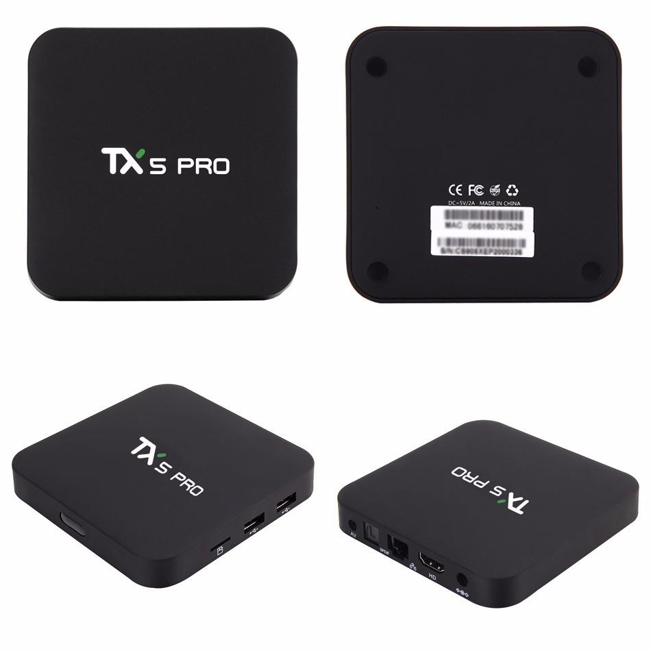 Tanix TX5 Pro Amlogic S905X Android 6.0 TV Box 1.5GHz 2G-16G KODI Smart TV 16