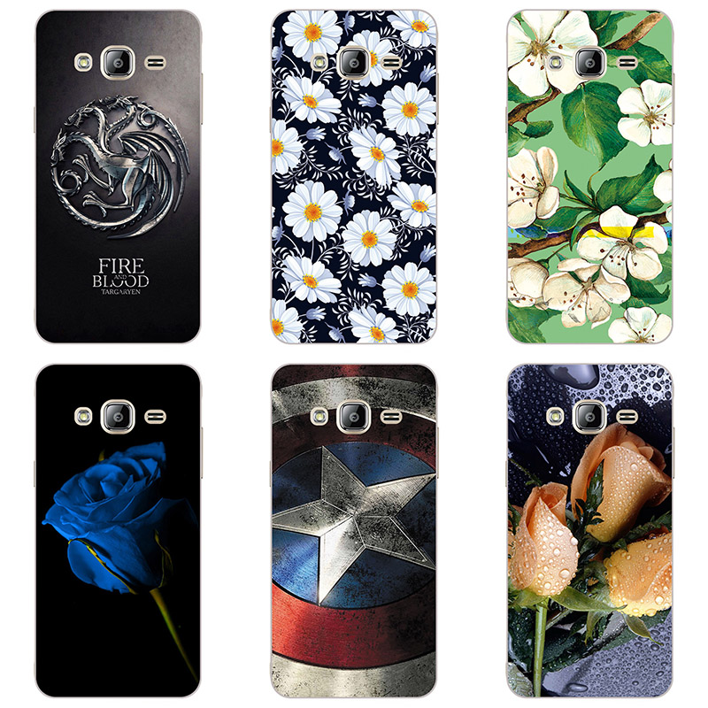 hard plastic Phone Cases For <font><b>Samsung</b></font> Galaxy J7 <font><b>SM</b></font>-<font><b>J700H</b></font>/ <font><b>SM</b></font>-J700F/<font><b>SM</b></font>-J700M Phone Case Back Cover Print painting style image