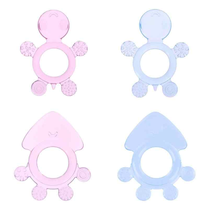 Mordedor de seguridad para bebé niños silicona chupete mordedor dientes mordedor regalos niños COLLAR COLGANTE juguete cuidado del bebé