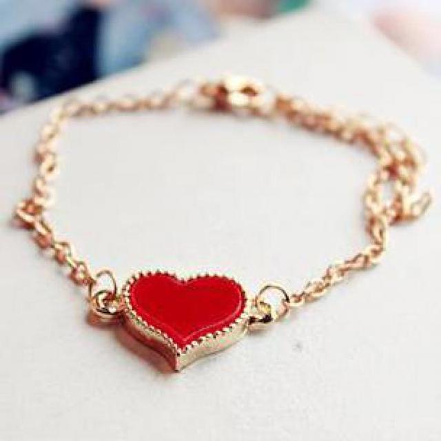Global Mode-sieraden Groothandel Lieve Liefde Achtervolging Hart Druppels Enamel Armband Groothandel