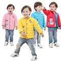 New Winter Boy Girls Down Jacket Outerwear Children Brand Down Coats Cotton Good Quality Baby Kids Warm Clothes for Boys
