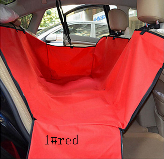 car pet seat covers Universal waterproof hammock style scratch proof Oxford fabric with zipper double-deck design Wh