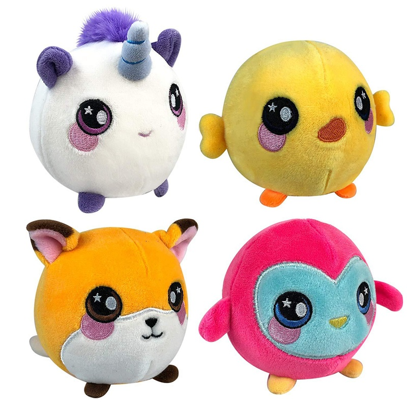 Super Plush Squishy Slow Rising Foamed Stuffed Animal Squeeze Toys Soft Adorable Squishies PU Stress Relief Child Toy 12*13cm