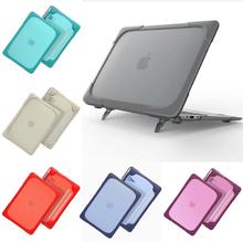 Newest fashion shell for Apple Macbook Air 11 cover 11.6 inch A1465 A1370 Full Protection Stand TPU PC Flip Laptop Case