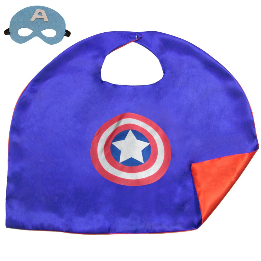 Kids superhero capes and masks free shipping worldwide for Cape designs