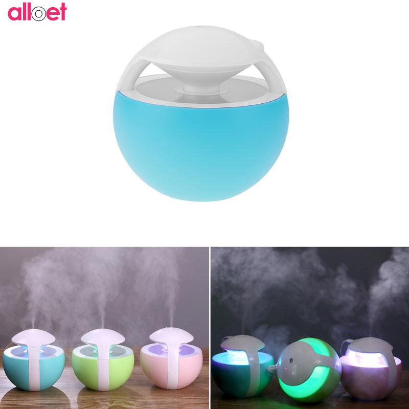 450ml Mini USB Ultrasonic Humidifier Electric Aroma Diffuser Air Humidifier Fogger Aroma Lamp Essential Oil Mist Maker wholesale