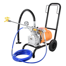 860 model Electric High Pressure Airless Paint Sprayer , Painting Machine, 8L flow,with single spray gun