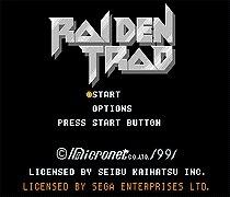 Raiden Trad Game Cartridge Newest 16 bit Game Card For Sega Mega Drive / Genesis System