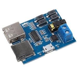 Image 2 - Kebidumei 1Pcs Tf Card U Disk MP3 Formaat Decoder Board Mirco Usb poort Versterker Decodering Audio Speler Module