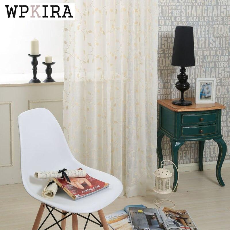 hojas de estilo rstico ventana cortinas de color beige tulle cortinas puerta de la cocina decoracin del hogar artculos de la