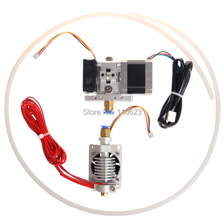 Reprap 3d printer j-head hotend extruder GT9l long distance 0.3/0.35/0.4/0.5mm nozzle 1.75/3mm filament 3d printer accessory reprap j head mkiv mkv hotend nozzle wade bowden extruder for choice top quality free shipping