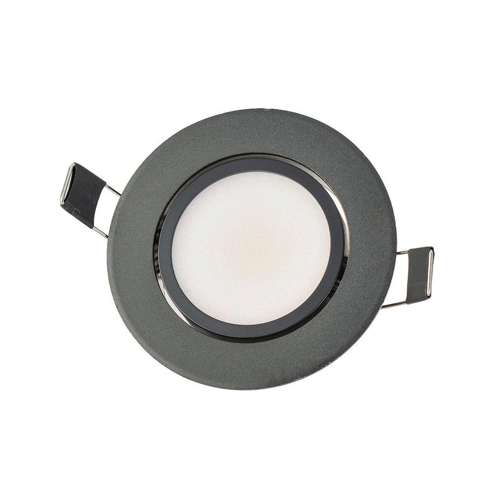 Супер яркий Встраиваемые dimmable cob светильник 3 Вт 6 Вт 9 Вт Светодиодные пятно света затемнения закрытый потолочный светильник белый/теплый бе...