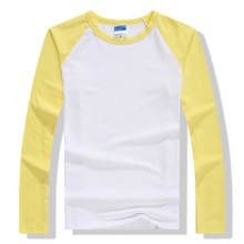 Raglan Long Sleeve Crew Neck Unisex T-Shirt