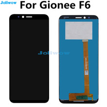 5.7 Inch LCD For Gionee F6 LCD F6L full LCD Display +Touch Screen Digitizer Assembly Replacement цены