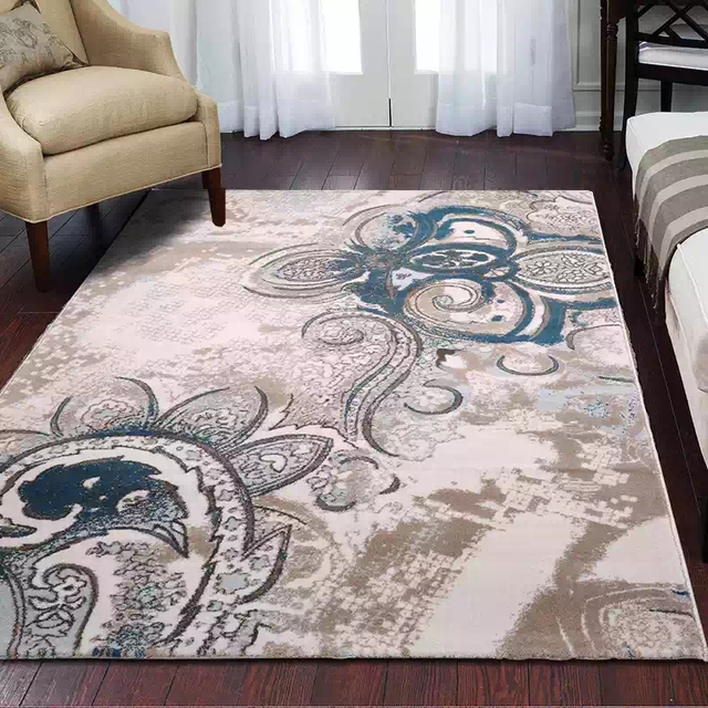 Oil painting pattern Big size Persian ground mat 200*290cm ,office ...
