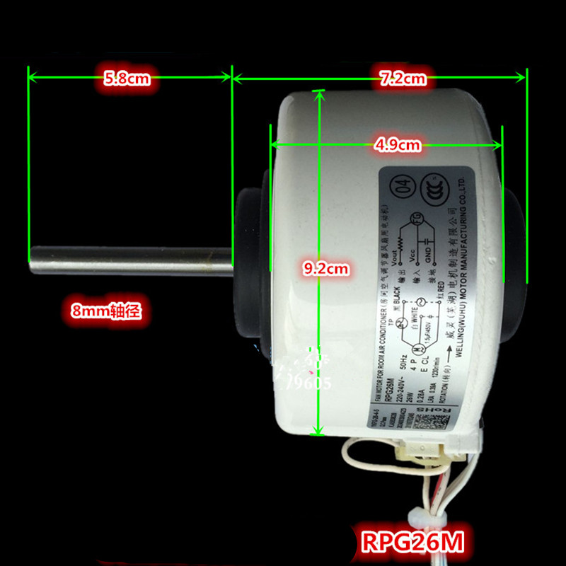 1pcs brand new original air conditioning motor DC motor RPG26M RPG28D fan motor Air Conditioner Parts цены