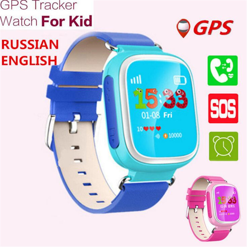 GPS Smart Watch Wristwatch SOS Call Location Finder Locator Device Tracker For Kid Safe Anti Lost Monitor Baby Smartwatch F28 купить в Москве 2019