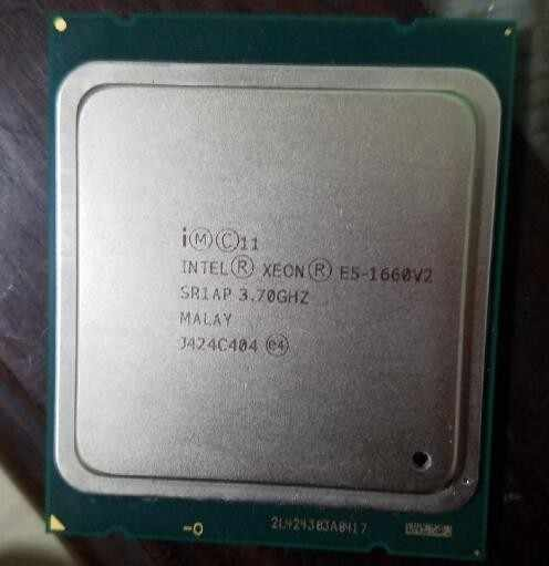 Intel Xeon Processor E5 1660 V2 CPU LGA2011 six core  Server processor 100% working properly Desktop Processor 3.7Ghz E5-1660V2