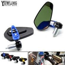 FOR BMW S1000RR S1000R HP4 R1200GS F650GS F800GS F800R F700GS 7/8 22mm handle bar motorcycle end mirror Motorcycle Mirror