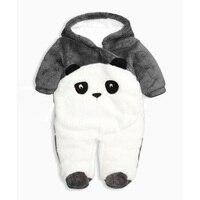 Kung Fu Panda baby clothes Jeden Kawałki Kombinezon Zimowy Chłopiec Pajacyki newborn Cartoon Zwierząt Cartoon Niemowląt Ubrania Dla Dzieci Romper YL29