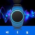 1pc 2017 Bluetooth Portable Mini Watch Style Sport Speaker TF Card FM Audio Radio Speakers Selfie Shutter Loudspeaker gift H3