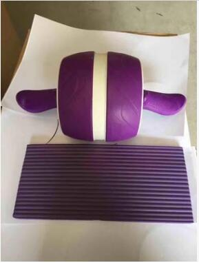 2018 versión mejorada sin ruido Ab rueda redonda AB rodillos para entrenador central cintura brazo fuerza ejercicio gimnasio Fitness en equipo de casa - 3