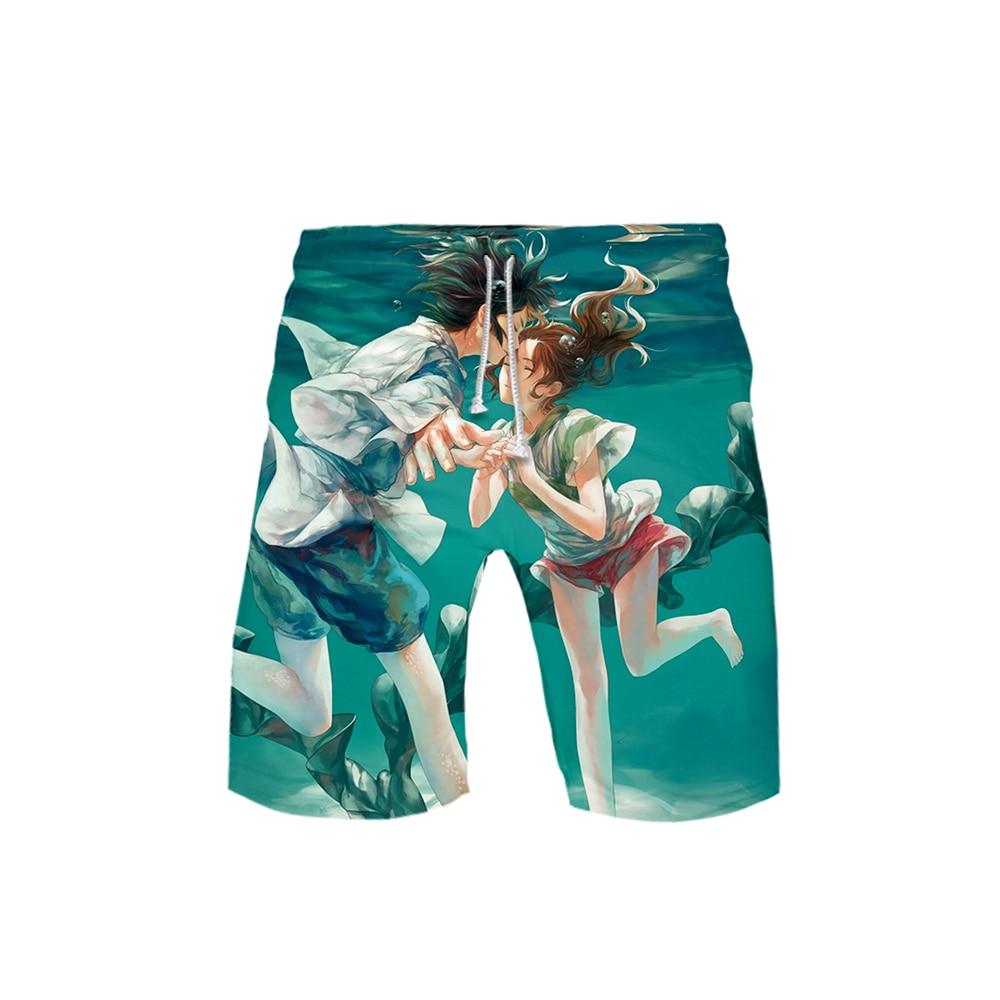 Men's Shorts Pants Casual Top Print Away-Film Animation-Ball Spirited Comfortable Kakarot