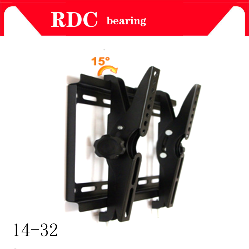 Support TV Wall Bracket TV Wall Mount Full Motion Tilt Swivel Holder LCD LED 14-32 inches Wall Stand Adjustable Mount Arm