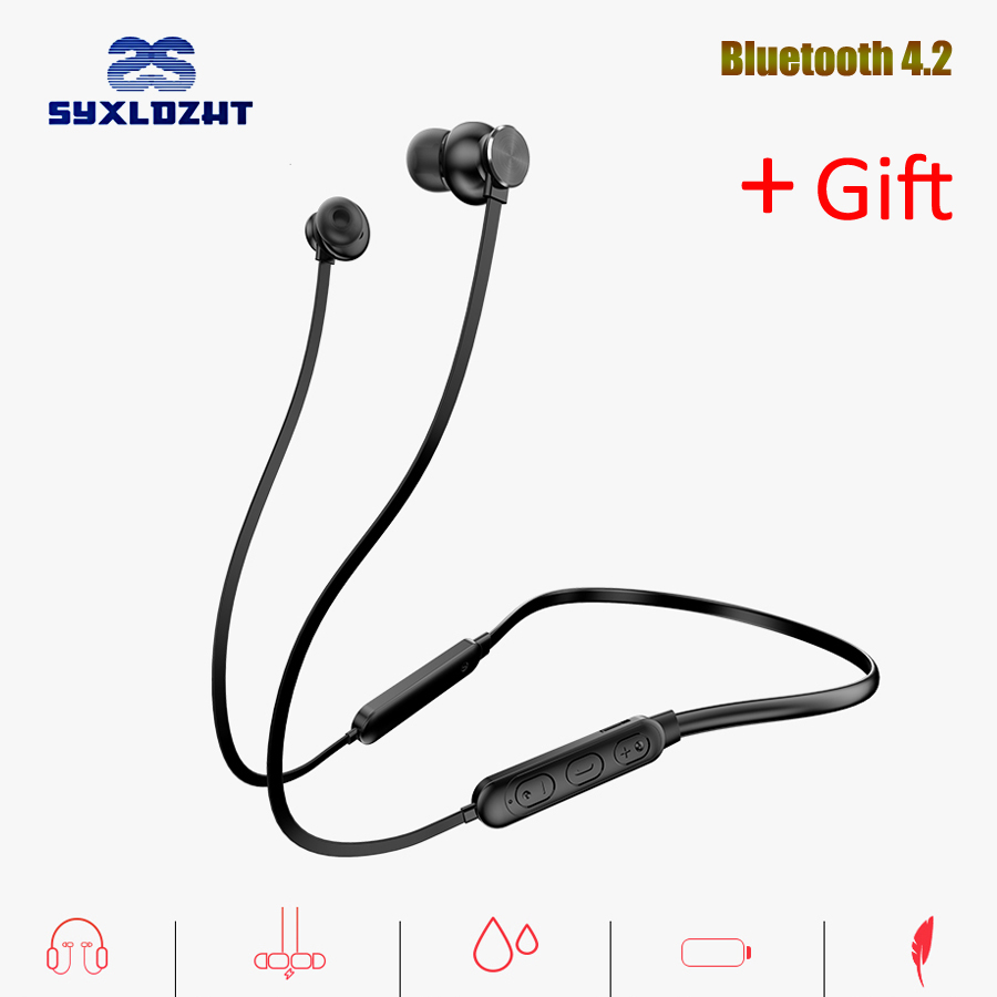 Bass Wireless Bluetooth Earphone headphones Sports Bluetooth Earbuds IPX5 Waterproof Stereo Headset For Mobile Phone with MIC стоимость