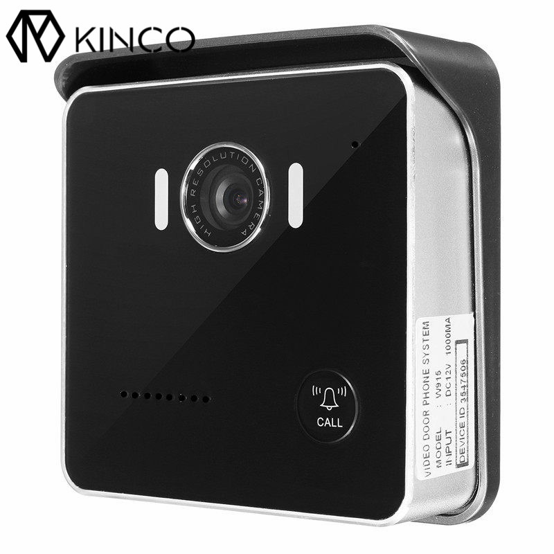 Здесь продается  Black US/EU/AU DC 12V 1A Waterproof  P2P WIFI Remote Control Mobile Detection IR Night Vision Monitor Smart Door Bell for Phone  Бытовая электроника