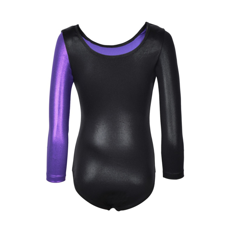 Girls Toddler Ballet Dress Kids Dance Wear Long Sleeves Athletic Dance Leotards Gymnastics Leotards Acrobatics Dress