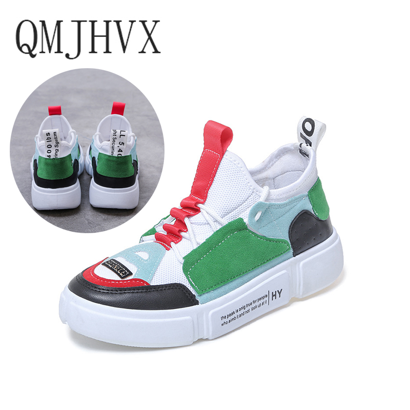 QMJHVX Women's vulcanize Shoes Ladies Canvas Flats Casual Sports Shoes Fashion Sneakers Zapatos De Mujer Espadrilles Women 2019