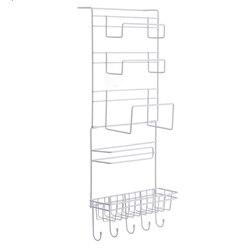Multilayer Kitchen Storage Hanger Iron Refrigerator Side Shelf Rack Oganizer Tool XHC88