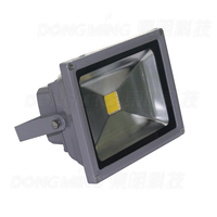 Iluminação Led ao ar livre RGB CONDUZIU a Luz de Inundação IP65 impermeável AC85-265V levou holofote 20 w com Controle Remoto IR 24Key