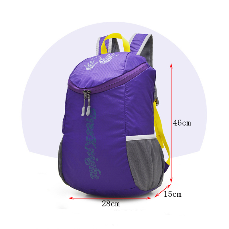 Ultra-light Waterproof Folding Nylon Backpack For Women Men Unisex Camping Mountaineering Travel Outdoor Sport Bag FK34