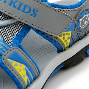 Image 4 - JACKSHIBO ילד סנדלי קיץ חוף ילד סנדלים לילדים סנדלי קרוב הבוהן נגד החלקה מגזרות חיצוני מים בני נעליים
