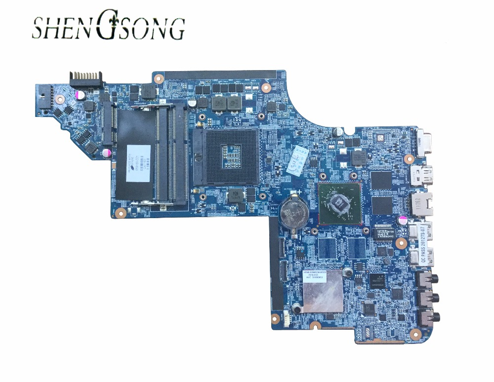 free shipping Original laptop motherboard 659150-001 for HP Pavilion DV6-6000 DV6 motherboard DDR3 HD6470M 1G tested OK for hp pavilion dv6 6000 notebook dv6z 6100 dv6 6000 laptop motherboard 650854 001 main board ddr3 hd6750 1g 100