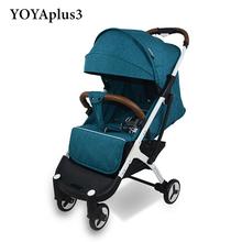 YOYA Plus 3 wózek YOYA Plus wózek dla dziecka 9 prezenty dla dzieci wózek dla dziecka nowy projekt 2019 lekki wózek Carrinho de Bebe tanie tanio 30kg YOYAPLUS 3 13-18 M 2-3Y 4-6 M 7-9 M 19-24 M 10-12 M 0-3 M Numer certyfikatu 8 8kg