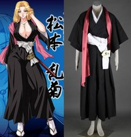 Bleach Matsumoto Rangiku kimono cosplay halloween Costumes