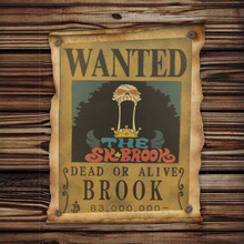 Large Brook Wanted Poster
