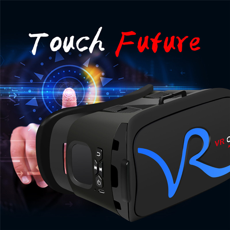 "3D VR Headset Virtual Reality Glasses VR Case All In One For 4.0""-5.8"" iPhone Samsung Moto LG Nexus HTC Wholesale 18"
