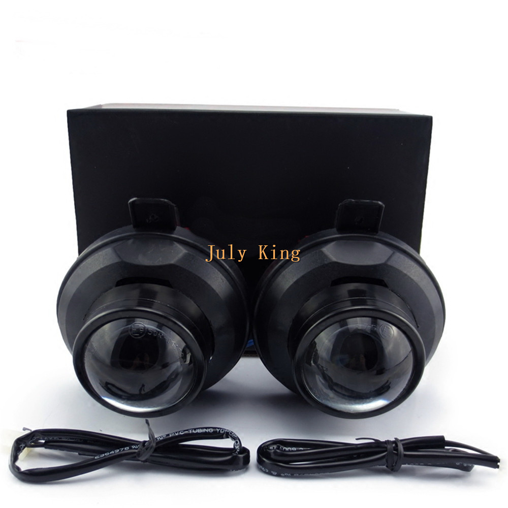 July King Car Bifocal Lens Fog Lamp, Front Bumper Fog Lamp Assembly Case for Chevrolet Cruze 2009~ON and Spark LS Model 2013+ july king car front bumper bifocal lens fog lamp assembly case for mercedes benz a b c e cls gl glk m class and smart fortwo etc